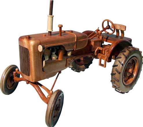 Left side view of Allis Chalmers 1938 Model B