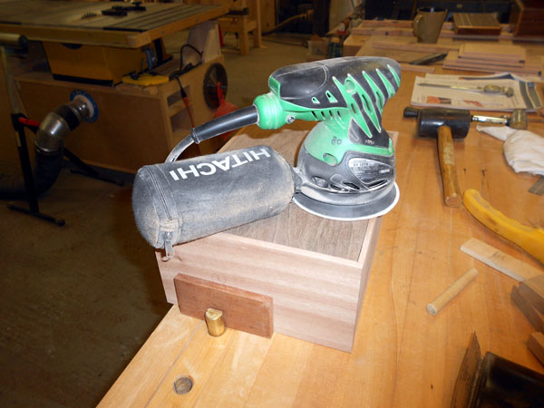 Sanding Rough Box Edges