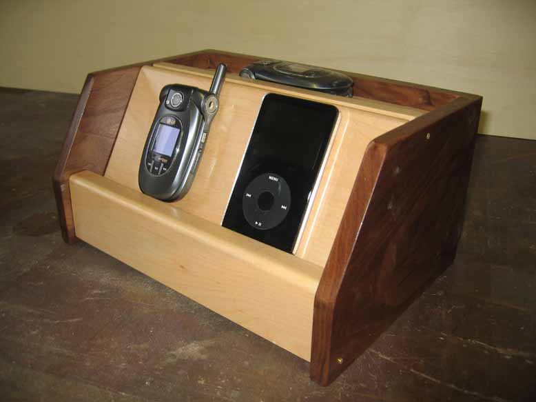 Wooden Cell Phone Charging Station Plans How To Build