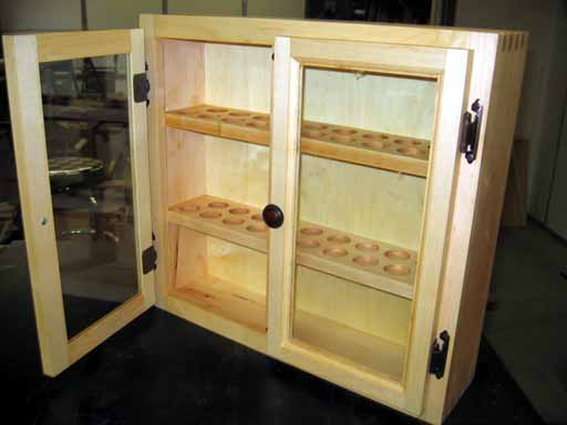 Garden Hose Nozzle Display Case Project Page