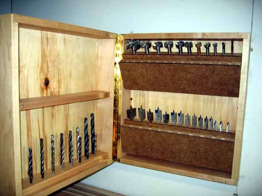 Ol Dave S Woodshop Drill Bit Storage Cabinet Project Page