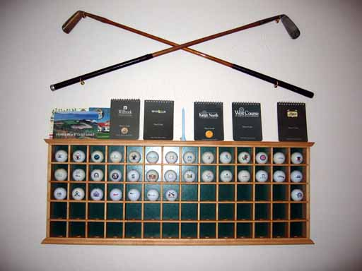 Free Golf Ball Display Case Plans
