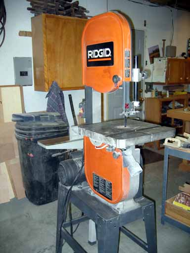 Left side view of Rigid Band Saw