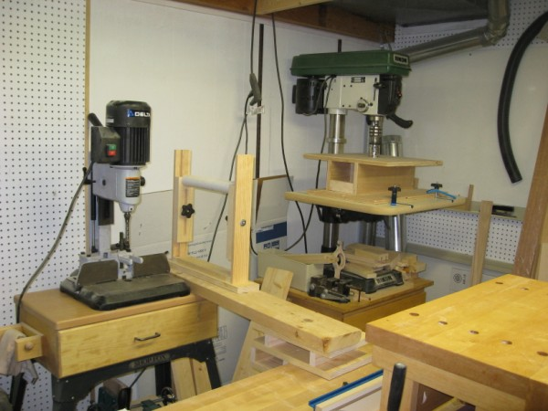 DeWalt Mortiser & Rikon Drill Press